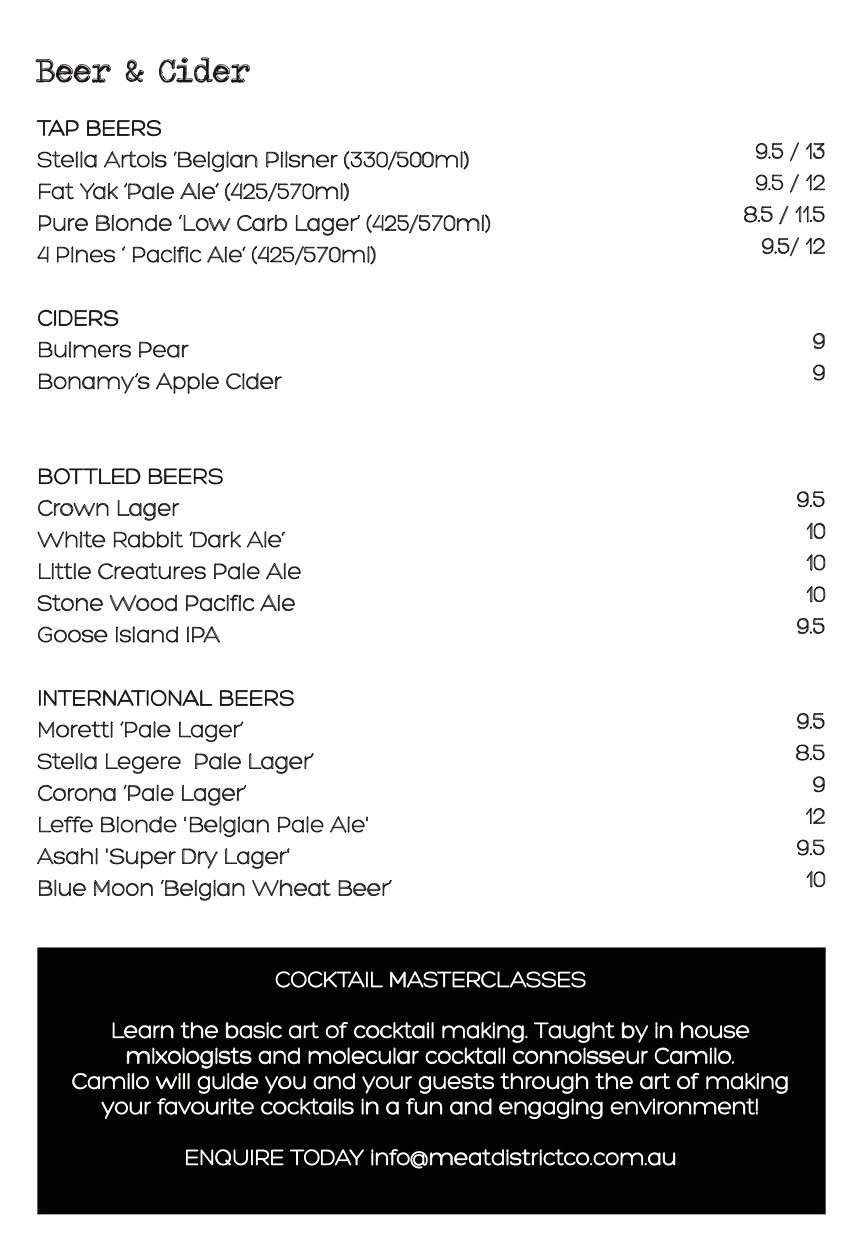 beer page