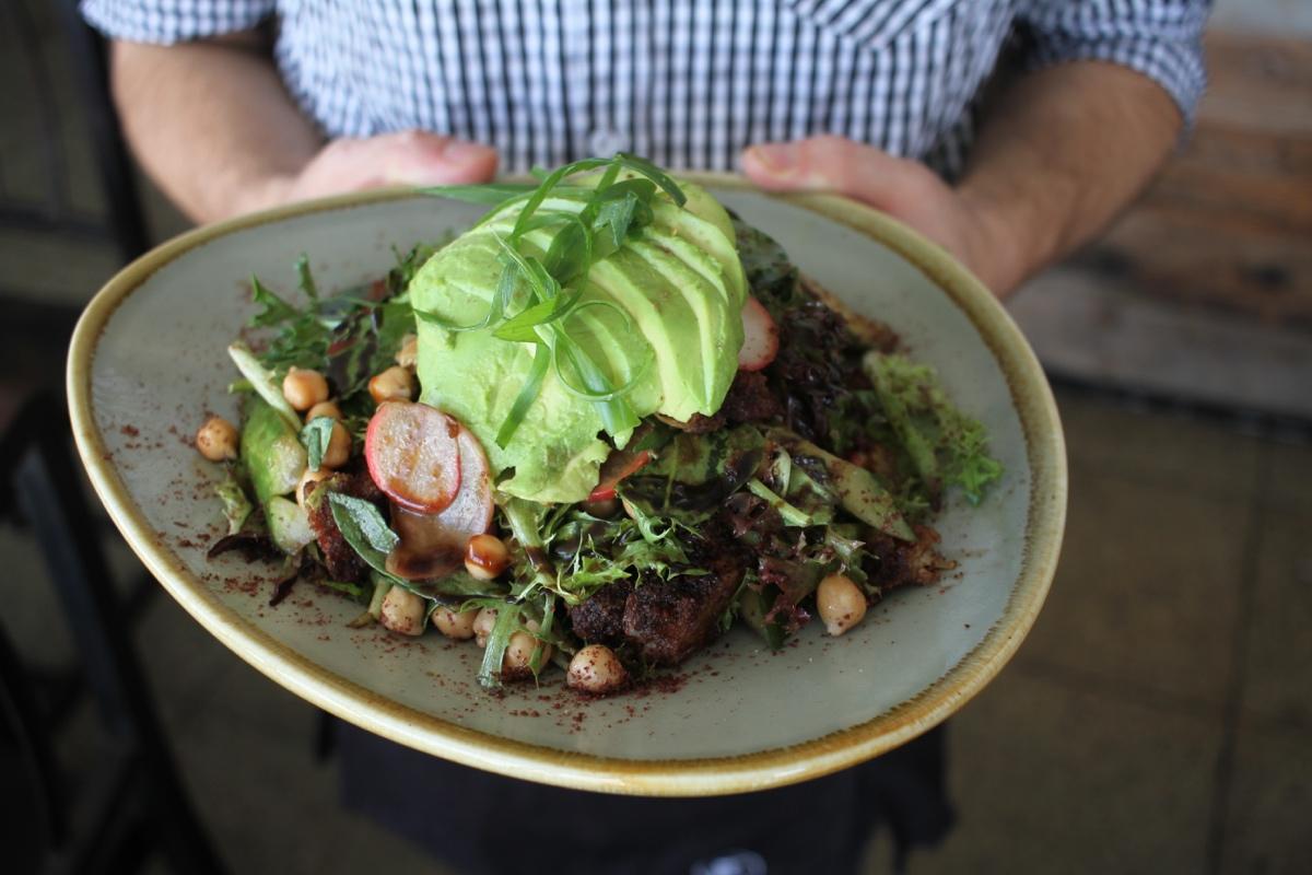 MDC's Express Brunch Menu - Chicken & Avo Salad