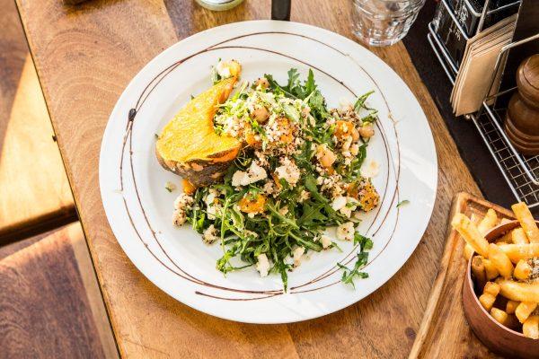 MDC's Mains Menu - Salads Baked Pumpkin Salad