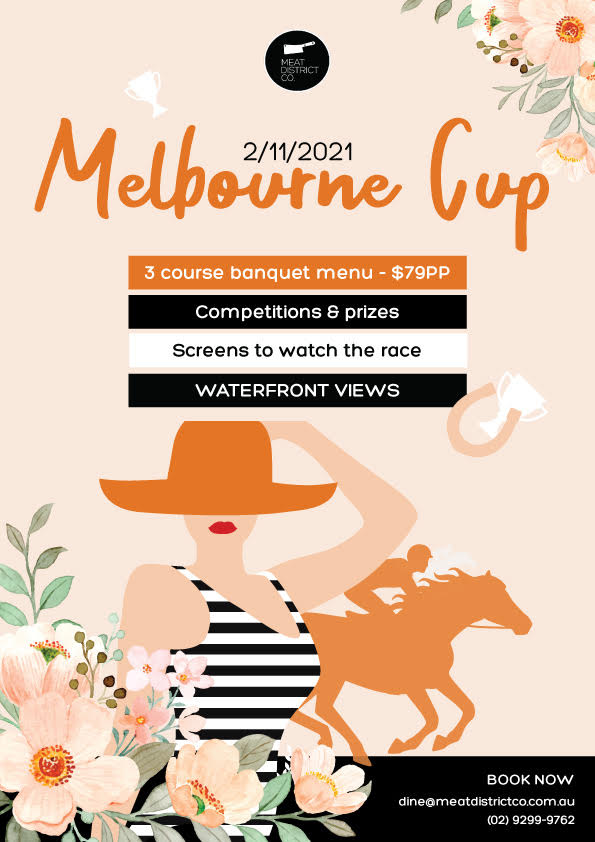 Melbourne Cup Lunch at Meat District Co